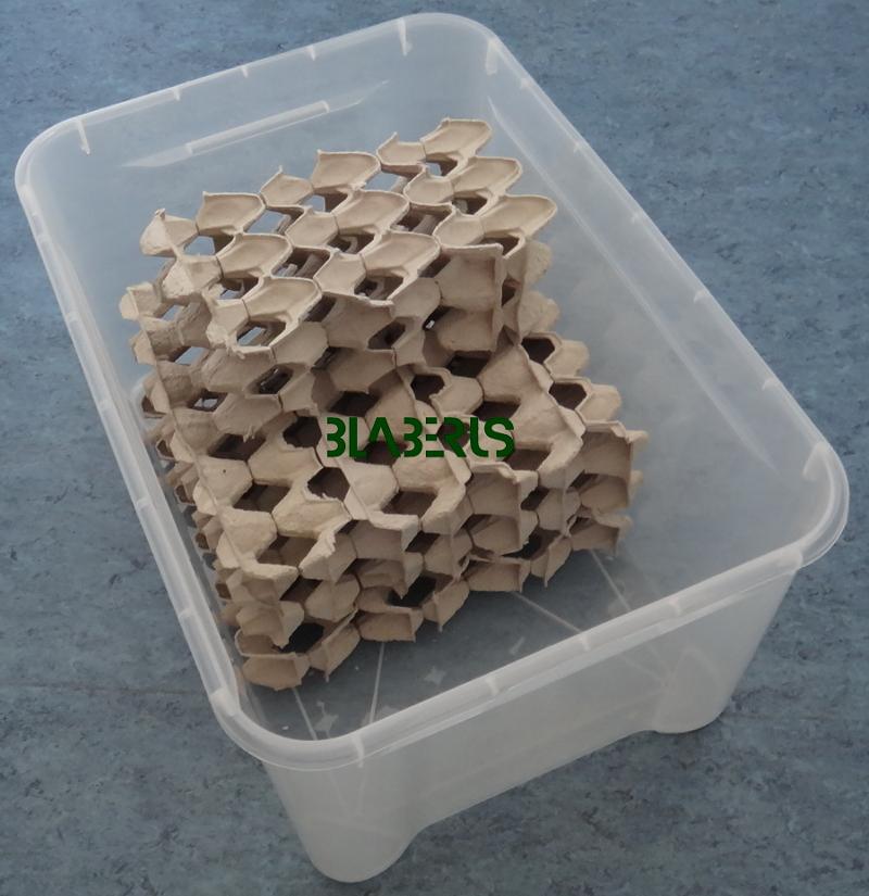 Ukázka stěhovacího a odchytového modulu v bedně